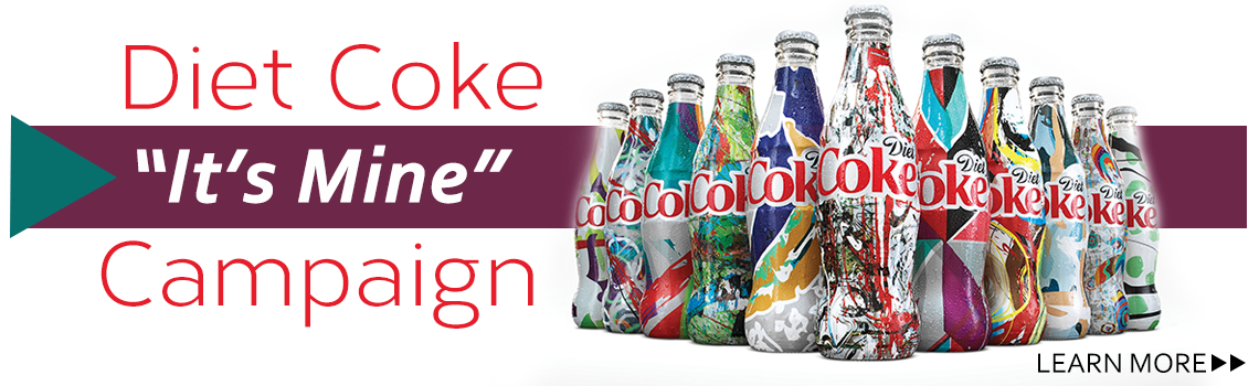 "Diet Coke ""Its Mine"" Campaign"