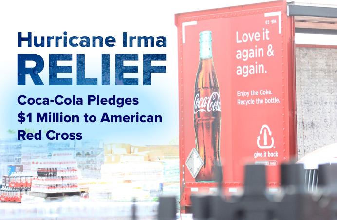 Cocacola Hurricane Irma Relief