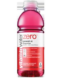 Vitamin water Zero Products