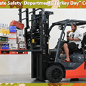 Safety Department Turkey Day Winner Logo