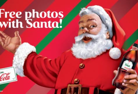 Coke Florida Holiday Tour Featured Image of Santa