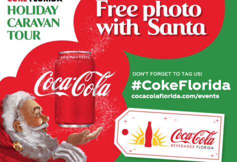 Coke Florida Holiday Caravan tour 2019